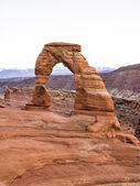 自然なウィンドウを造岩 — ストック写真