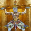 Giant in Wat Phra Kaeo, The Royal Grand Palace - Bangkok Thailand — Stock Photo