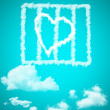 Cloud love — Stock Photo #31219421