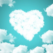 Stock Photo: Cloud love