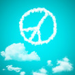 Peace cloud — Stock Photo #31221097