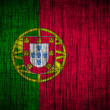 Portugal flag  wood texture — Stock Photo