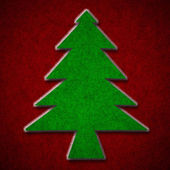 Christmas paper background texture — 图库照片