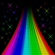 Постер, плакат: Bstract colorful rainbow background