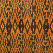 Stock Photo: Pattern of thai fabric