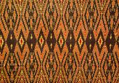 Pattern of thai fabric — Stock Photo