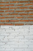 Old walls are cracked — Stock Photo