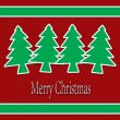 Stock Photo: Christmas Greeting Card. Merry Christmas lettering