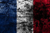 Grunge flag of france — Stock Photo