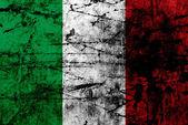 Grunge flag of italy — Stock Photo