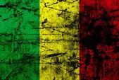 Flaga ilustracja mali — Zdjęcie stockowe