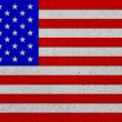 USA grunge flag on paper background — Stock Photo