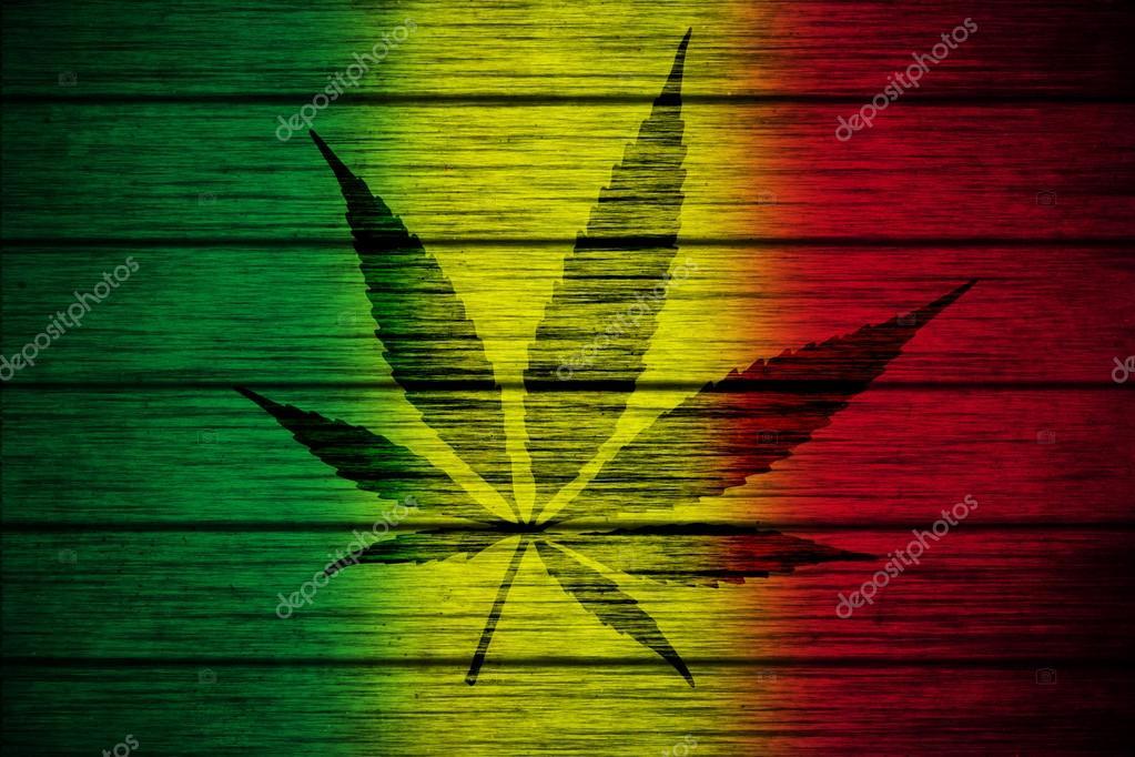 Download - Background texture wood Rasta Flag with Marijuana Leaf ...
