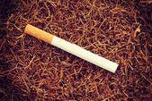 香烟旧复古怀旧风格 — 图库照片