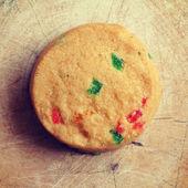 Cookies old retro vintage style — Stock Photo
