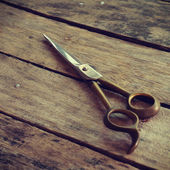 Scissors old retro vintage style — Stock Photo