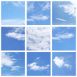 Set of  blue Sky collection — Stock Photo #50413705