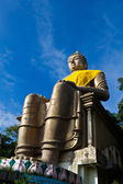 Big old Buddha statue — Stock Photo