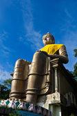 Velká stará socha buddhy — Stock fotografie