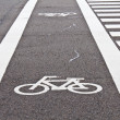Bicycle lane — Stock Photo #35243953