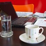 Take a coffee or tea break — Stock Photo
