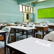 Empty schoolroom — Stock Photo
