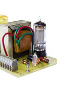 Old electronic board using triratron (vacuum tube) — Stock fotografie