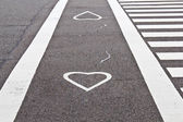 Amore lane — Foto Stock