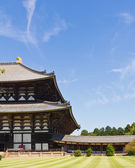 Todai-ji temple in Nara, Japan — Stockfoto