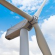 Close up of wind turbine — Stock Photo