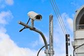 Bezpečnostní kamera — Stock fotografie
