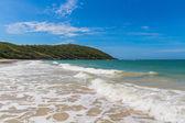 Clear turquoise sea and beach — Zdjęcie stockowe