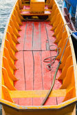 Small wooden fishing boat — Stock fotografie