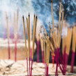 Stock Photo: Joss sticks burning