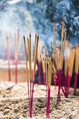 Joss sticks burning — Stock Photo