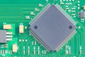 Surface mount technology (SMT) microchip — Stock Photo