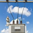 Stock Photo: Oil immersed transformer