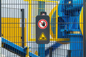 Safety sign — Stock Photo