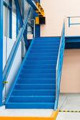 Steel stairs — Стоковое фото