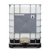 Bulk liquid container — Stock Photo