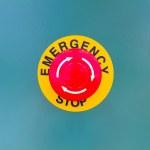 Постер, плакат: Emergency stop
