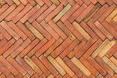 Red brick pavement — Stock Photo