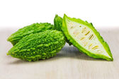 Small green bitter melon — Stock Photo
