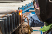 Oxyfuel gas welding (OFW) — Stock Photo