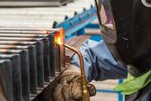 Oxyfuel gas welding (OFW) — Stock Photo