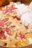 Yılbaşı kurabiye karışımı — Stok fotoğraf