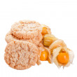 Physalis biscuits — Stock Photo