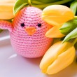 Decoration for easter holidays — Stock Photo