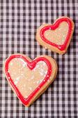 Pastelería artesanal corazón delicioso — Foto de Stock
