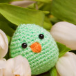 Hand made spring decoration — Stock Photo